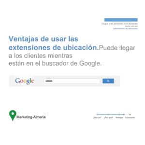 Ventajas de usar las extensiones de Ubicación en Adwords