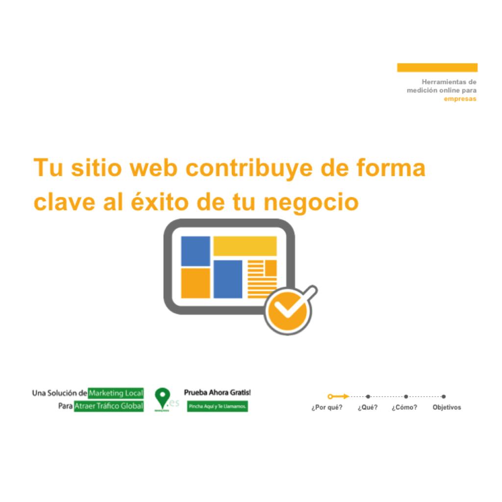 tu sitio web contribuye de forma clave al exito de tu negocio