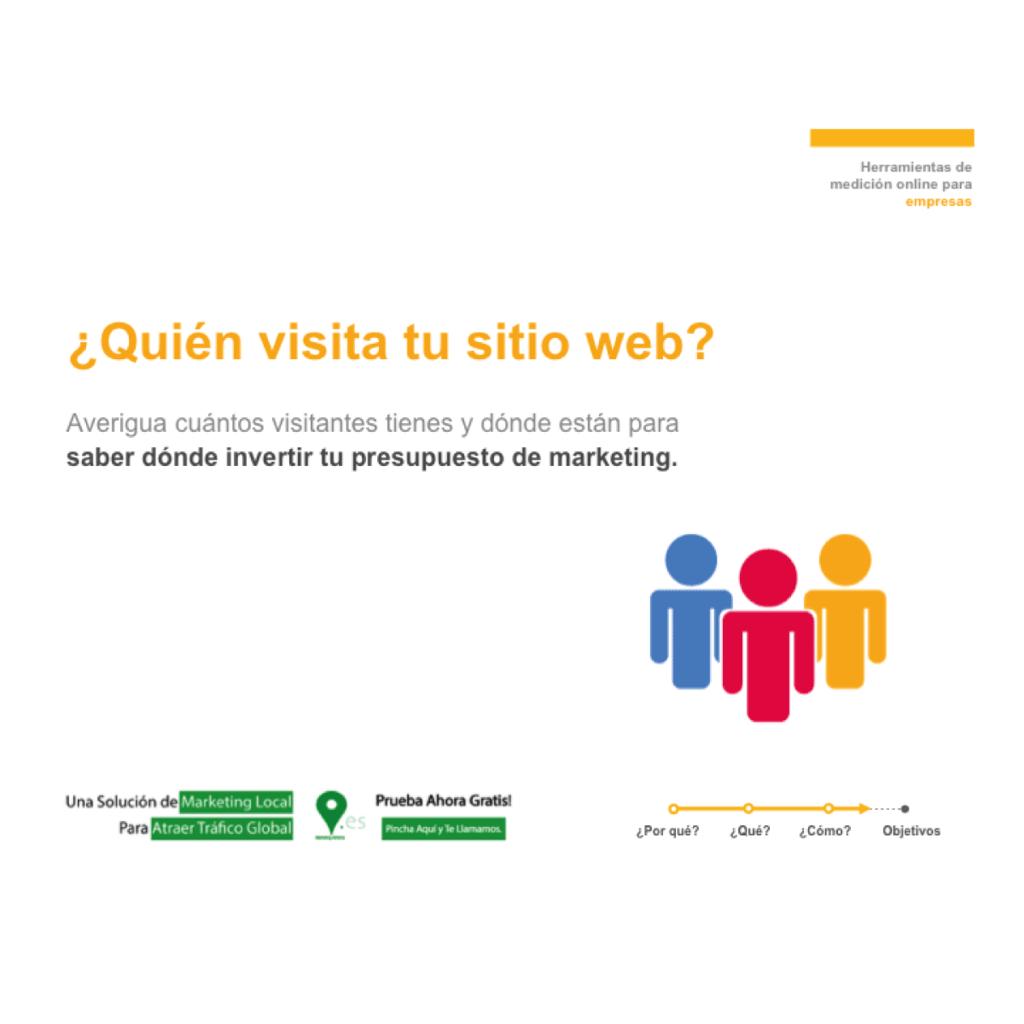 ¿Quien visita tu sitio web?
