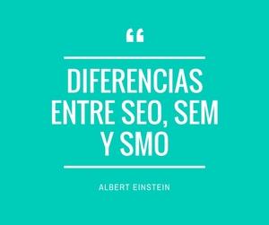Diferencias entre SEO, SEM y SMO