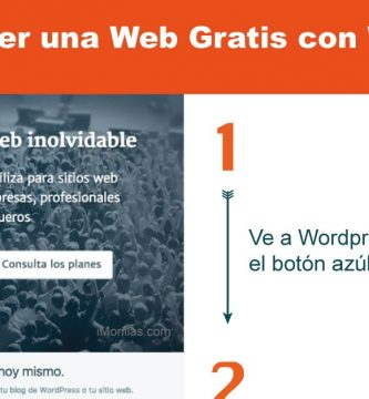 Web Gratis en Wordpress