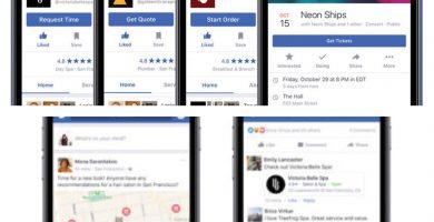 Nuevas funcionalidades de Facebook