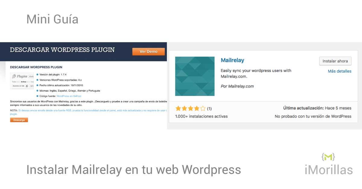 Instalar y Configurar Mailrelay en WordPress