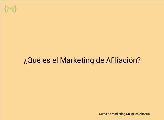 Qué es el marketing de Afiliación