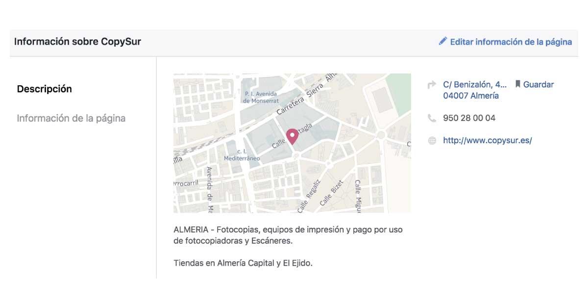 resultados locales en facebook