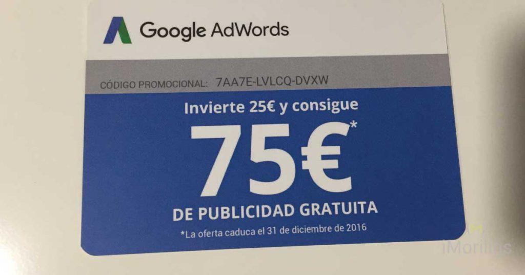 Adwords 75 €