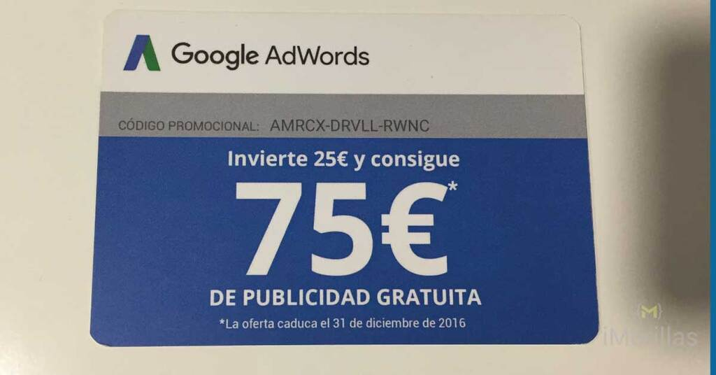 Cupon de 75€ para Google