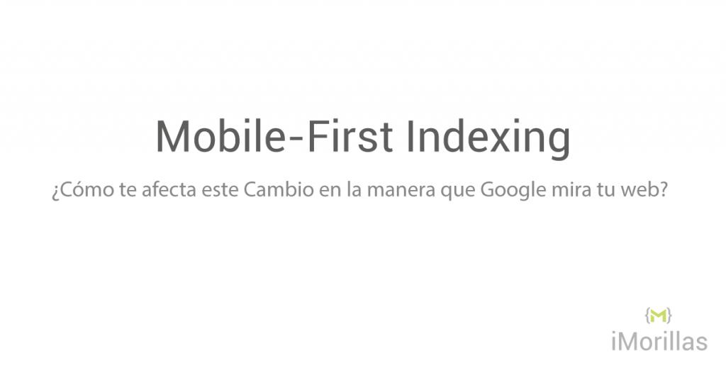 Mobile-First Indexing en Español