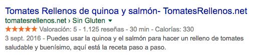 Tomates Rellenos de Quinoa y salmon