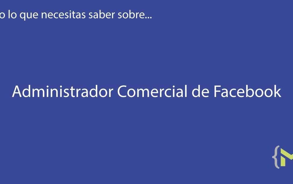 Administrador Comercial de Facebook - iMorillas