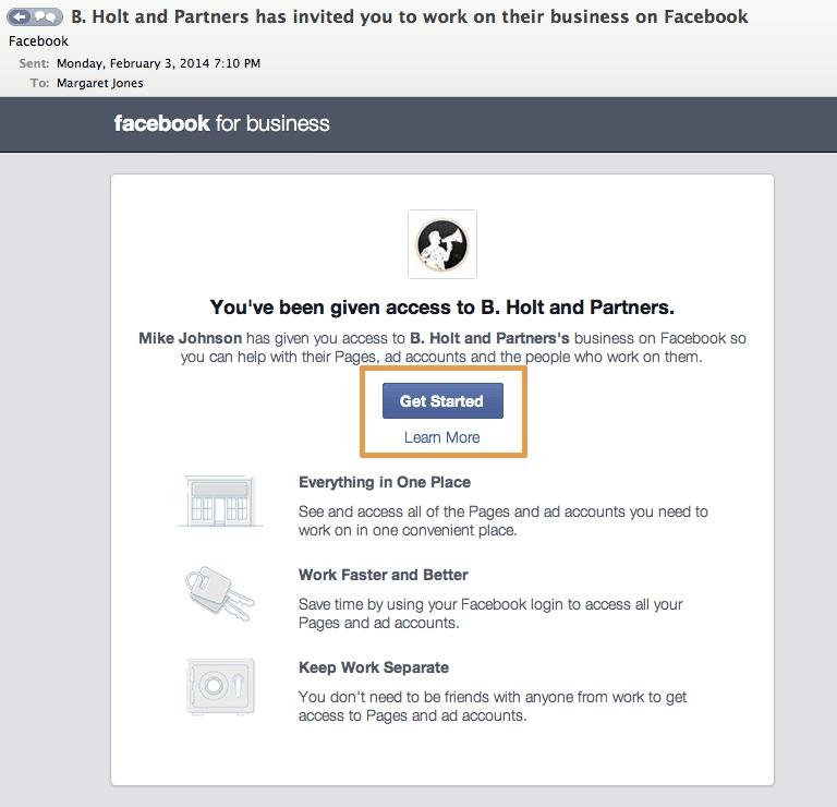 admin comercial facebook - experiencia 1
