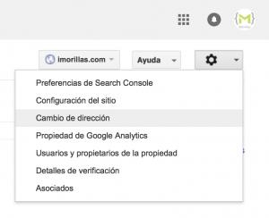 search console - cambiar de dominio sin perder posicionamiento