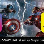 Snapchat VS Instagram - Cuál es mejor para mi empresa