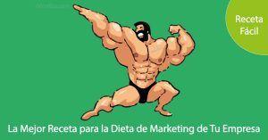 La Mejor Receta para la Dieta de Marketing de tu Empresa