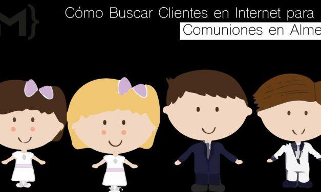 Cómo buscar clientes en internet para las comuniones