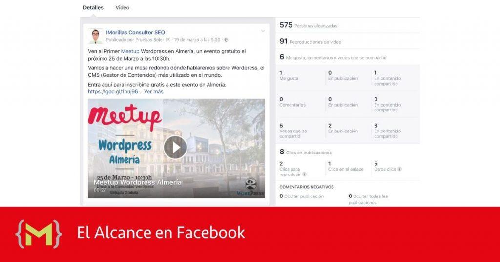 El Alcance en Facebook
