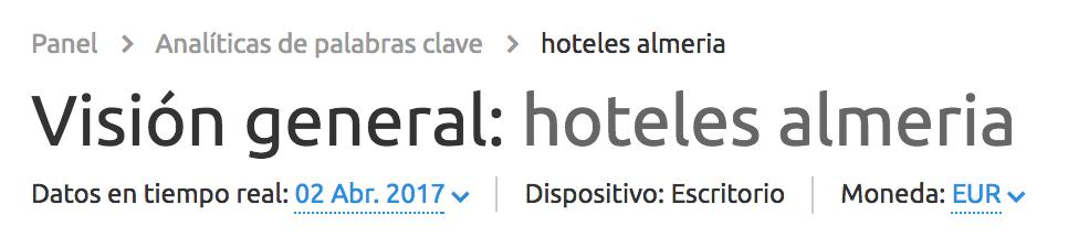 Hoteles Almeria