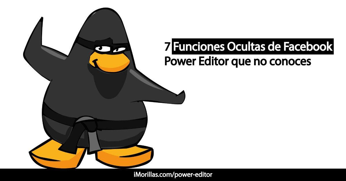 Power Editor - Facebook