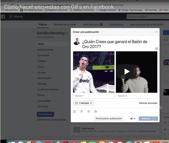 Encuesta en Facebook