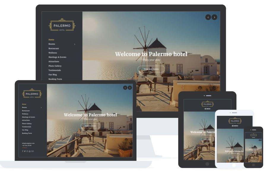 Palermo - Web para Hoteles