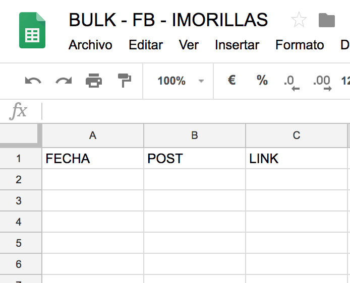 BULK - FB - IMORILLAS