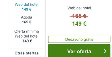 web del hotel