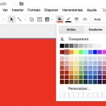 Google Drawings - tutorial en español