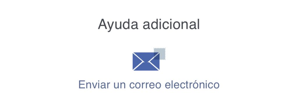 Contactar con Facebook